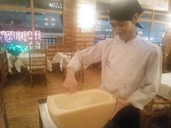 グランモラヴィアチーズで作ります。