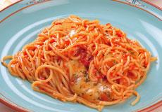 自家製完熟生トマトから作ったソース